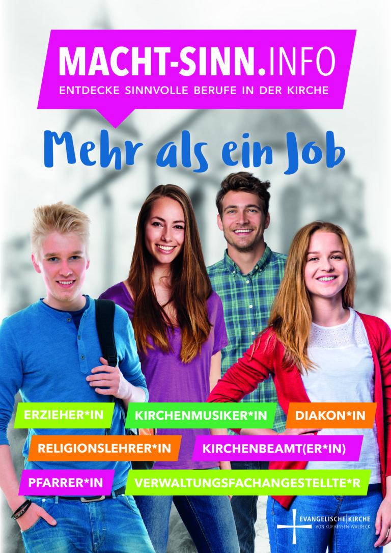 Berufe finden in der Evangelischen Kirche