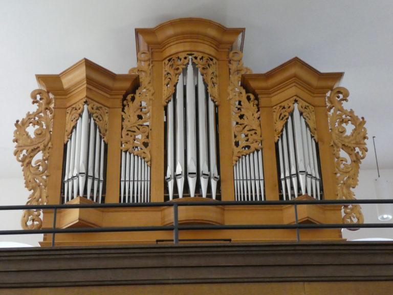 Orgel ist in die Martinskirche zurückgekehrt