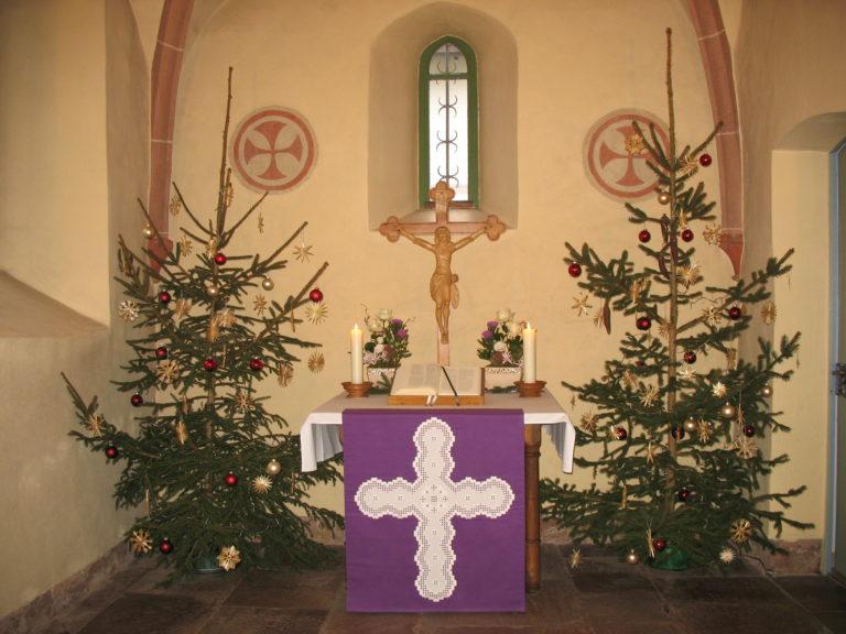 Weihnachtsgottesdienste im Linsengericht